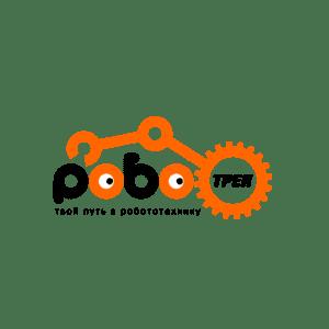 Логотип сети клубов робототехники, программирования и нейротехнологии - Роботрек