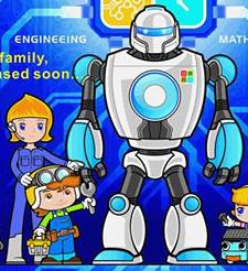 Робот и дети