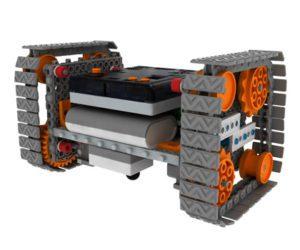 Управляемый робот вездеход Роботрек