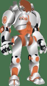 робот логотип клуба Роботрек