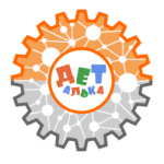 Логотип соревнований ДЕТАЛЬКА