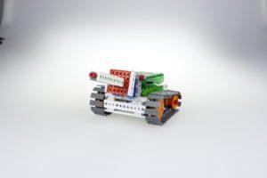 Модель малого танка Роботрек