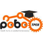 Логотип Роботрек со шляпой