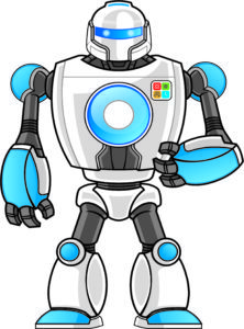 Логотип международной сети клубов робототехники, программирования и нейротехнологии - Huna