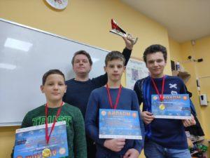 Победители международных соревнований по робототехнике ДЕТалька