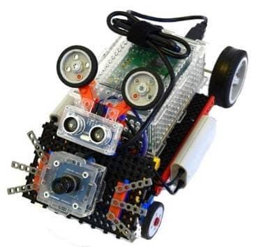 Робот Мышь компьютерное зрение. робототехника в симферополе